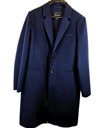 Massimo Dutti Women's Structured navy coat 6412/521 (38 EU | 7.5 US | 5 UK) (Massimo Dutti Clothing compare prices)