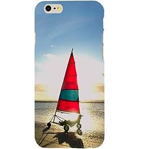 Casotec Yatch Design Hard Back Case Cover for Apple iPhone SE