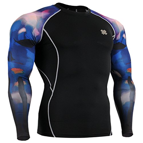 Fixgear Sport Under Compression Cycling Base Layer T Shirt Long Sleeve S