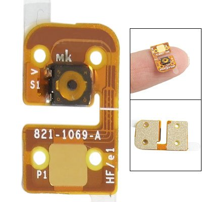 Gino Repair Part Home Button Key Flex Cable For Ipod Touch 4 front-588721