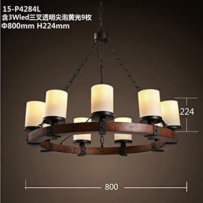 American country chandeliers vintage simplicity creative candle holders living room chandelier dining room lights bedroom lamp round chandelier