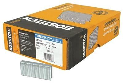 BOSTITCH BCS1512 15-1/2 Gauge 1-1/2-Inch Hardwood Flooring Staple (9,660 per box)