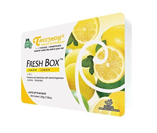 Treefrog Natural Air Freshener, Lemon Scent (Car Air Freshener Organic compare prices)