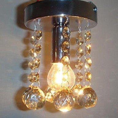 120Mm Crystal Ball Chandelier 3W Led Fashion Pendant Lamp For Living-Room Bedroom