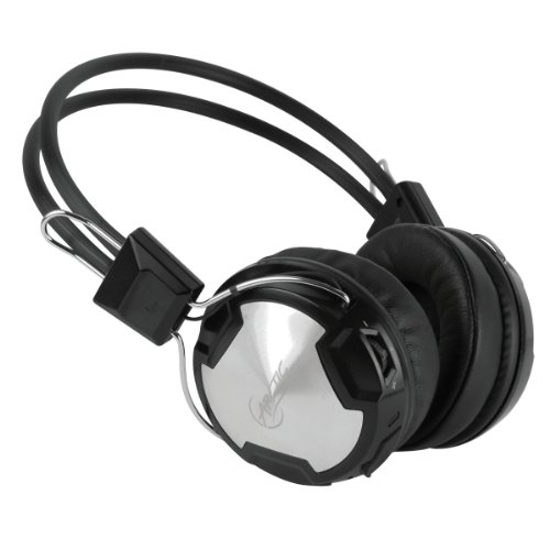 Arctic P402Bt Bluetooth Stereo Over-Ear Headphones, Integrated Mic, A2Dp/Avrcp, 30-Hr Playback - Black