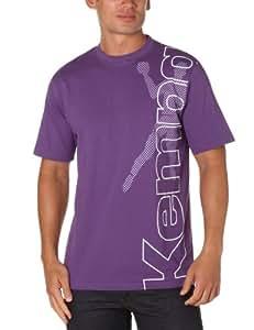 Kempa Promo Tee Player Tee-shirt homme Prune/Purple/Blanc S