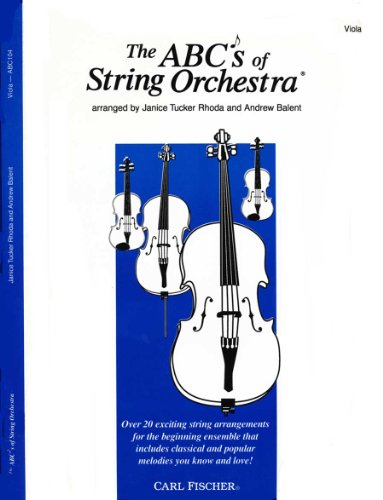 The ABCs of String Orchestra - Viola part
