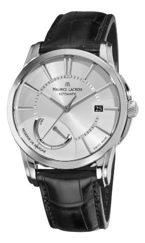 Maurice Lacroix Men's PT6168-SS001131 Pontos Silver Power Reserve Indicator Dial Watch