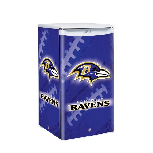 NFL Baltimore Ravens Counter Top Refrigerator