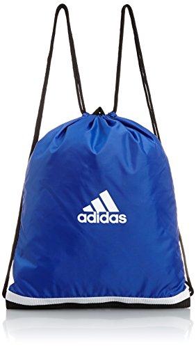 Adidas Tiro - Sacca sportiva, Unisex, Sportbeutel Tiro, blu/bianco, 40 x 50 x 2 cm, 10 Liter