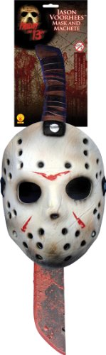 Rubie's Costume Co Jason Mask & Machete Set Costume