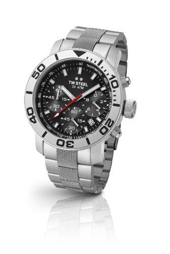 TW Steel Unisex-Armbanduhr Diver Chronograph Quarz Edelstahl TW-706