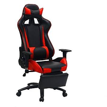 Esports sedia sports bar sedia sedia computer home sedie per ufficio,blu e bianco pedale del cinturino