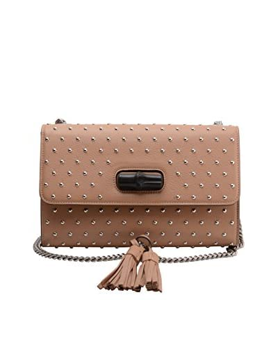 Gucci Women's Medium Miss Bamboo Bag, Rose Beige As You See