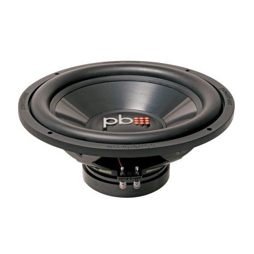 Powerbass L-154D 15-Inch 1,000 Watt Max 4-Ohm Dual Voice Coil Subwoofer