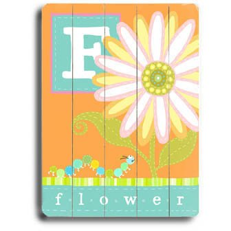 Personalized Alphabet Wall Art front-1037979