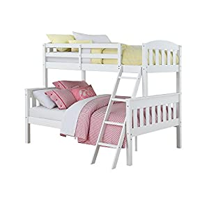 Dorel Living Dorel Living Airlie Twin over Full Bunk Bed