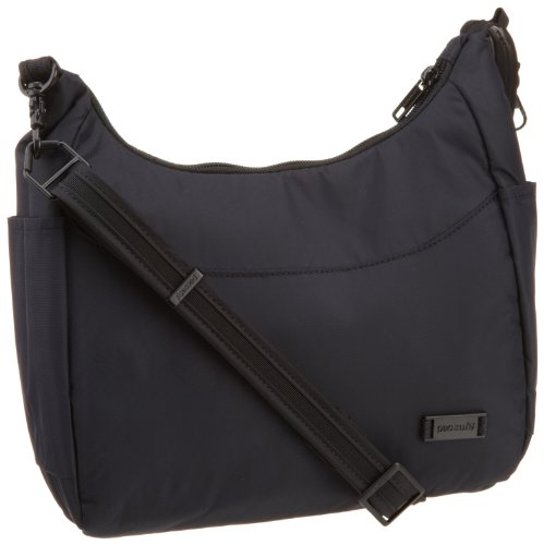 Pacsafe Citysafe 100 Gii Small Travel Handbag, Black, One Size