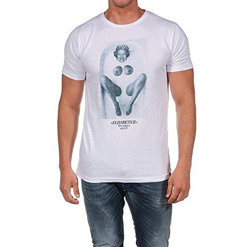 French Kick -  T-shirt - Uomo bianco XS