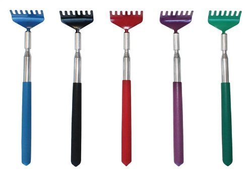 Executive Telescopic Extendable Soft Grip Metal Back Scratcher by NA