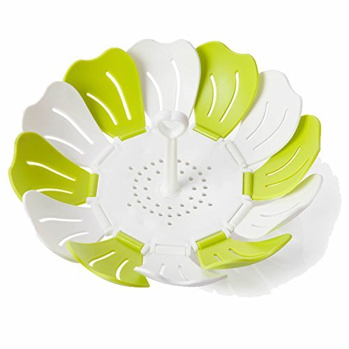 petal-design-fruit-plates-with-stainless-steel-fork-fruit-bowl-retractable-fruit-basket-kitchen-dini