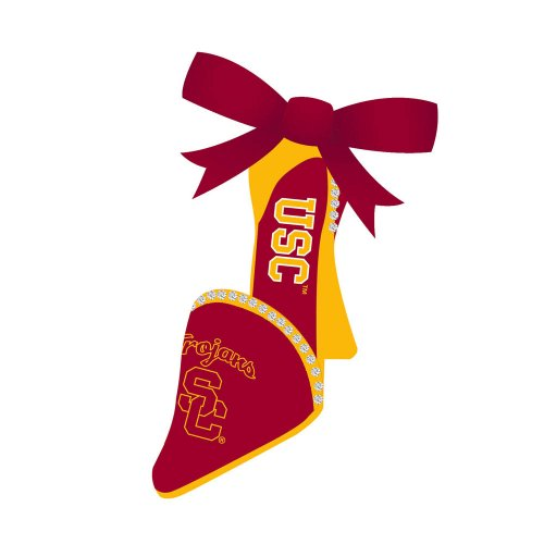 University of Southern California High Heel Christmas Ornament