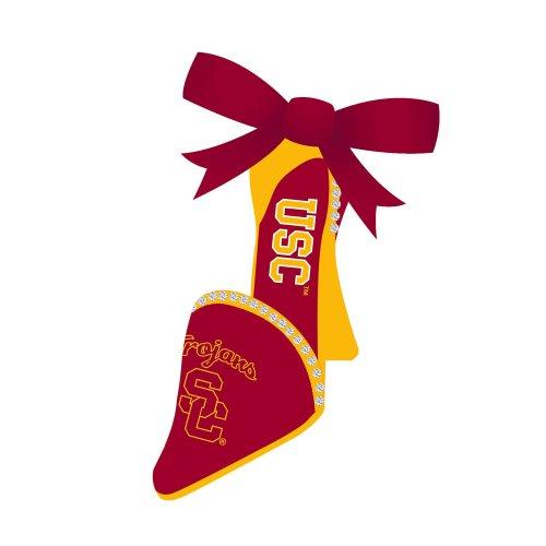 University of Southern California High Heel Christmas Ornament