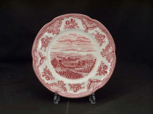 Johnson Bros. Old Britain Castles Pink Salad Plates