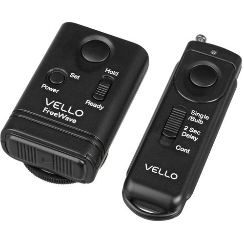 Vello FreeWave Wireless Remote Shutter Release for Nikon w/10-Pin Connection. Compatibility Nikon: D1, D1H, D1X, D2, D3, D3x, D3s, D2H, D2Hs, D2X, D2Xs, D200, D300, D300x, D300s, and D700 Fuji: S3pro and S5pro