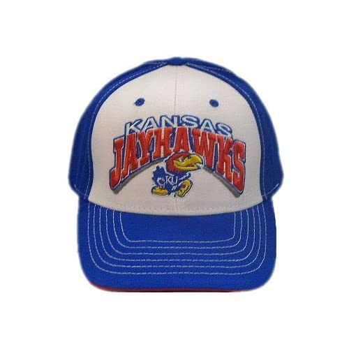 KANSAS JAYHAWKS OFFICIAL NCAA LOGO WOOL HAT CAP