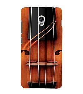 PrintVisa Violin Music Design 3D Hard Polycarbonate Designer Back Case Cover for Lenovo Vibe P1