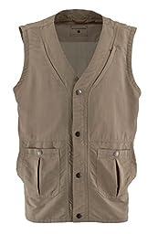 White Sierra Men\'s Traveller Vest, Khaki, Medium