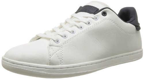 Jack & Jones Men's Jj Brooklyn Pu Ji Org 2012/2013 Trainers White Blanc (Cloud Dancer) 45
