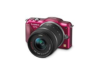 Panasonic Lumix DMC-GF5KR Live MOS Micro 4/3 Compact Sytem Camera with 3-Inch Touch Screen and 14-42 Zoom Lens (Red)