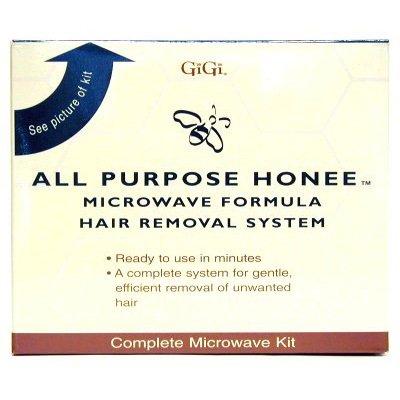 GIGI All Purpose Honee Microwave Formula Hair Removal System Wax