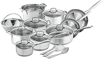 Chef's Star 17 Pc. Induction Ready Cookware Set