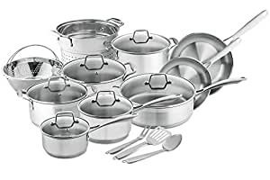 Chef's Star Professional Grade Stainless Steel 17