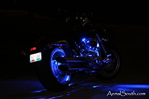 28-LED Motorcycle Accent Light Kit Engine & Rear Wheel from JoeFlorida LED Accent Light Kits
