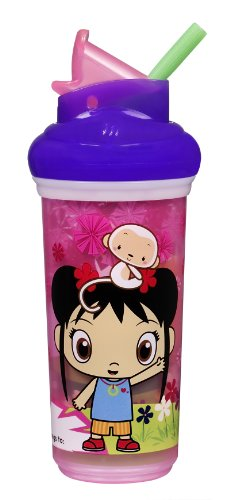 Munchkin 9 Ounce Ni Hao Kai-Lan Insulated Straw Cup, Colors May Vary front-858646