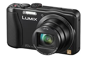 Panasonic Lumix DMC-TZ35EB-K Compact Camera - Black (16.1MP, 20x Optical Zoom Leica DC Lens, 24mm Wide Angle, Full HD Video - AVCHD) 3 inch LCD