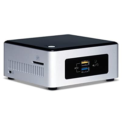 Intel BOXNUC5CPYH - Next Unit of Computing Mini PC Fully Loaded (Celeron Dual Core N3050 upto 2.16Ghz, 4GBLRam...
