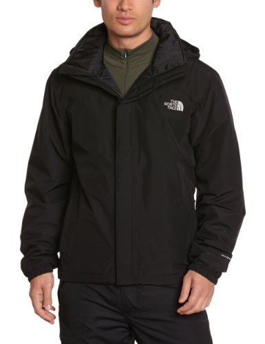 North Face M Resolve Insulated Giacca, Nero/Tnf Black, S