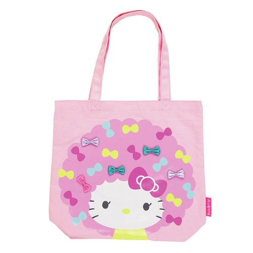 Hello Kitty Canvas Tote Bag: Wig