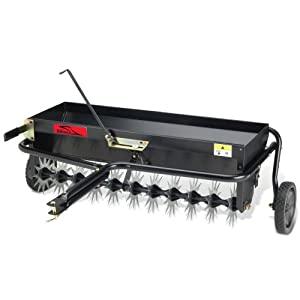 Brinly Tow-Behind Combination Aerator/Spreader from Brinly Hardy Company