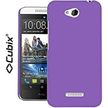 Cubix Hard Case Back Cover For HTC DESIRE 616 Dual Sim Slim Fit Thin Fit Super Slim Hard Rubber Coated Soft Touch...