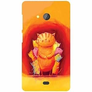 Microsoft Lumia 540 Dual SIM Printed Mobile Back Cover