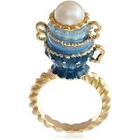 [ディサヤ] Disaya ブルー&ホワイトカップリング A12J06031 BW