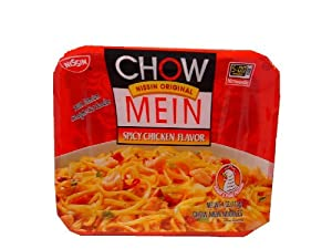 Nissin Chow Mein Qe Spicy Chicken 4-ounce Units Pack Of 8 by Nissin