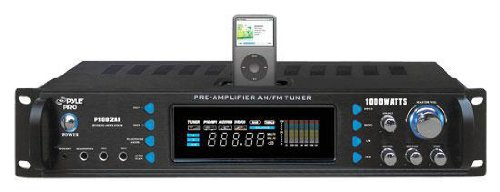 Pyle P1002Ai 1000 Watts Hybrid Receiver And Pre-Amplifier With Am-Fm Tuner/Ipod Docking Station