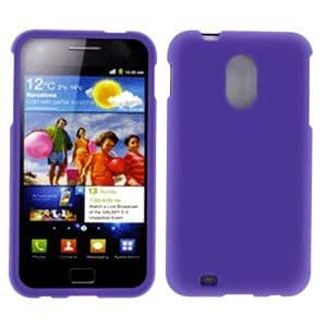 Samsung SPH-D710 Sprint Epic Touch 4G Rubberized Snap On Cover, Purple